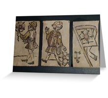 Renaissance Playing Cards 2 Greeting Card