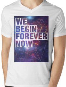 We Begin Forever Now - SF Mens V-Neck T-Shirt
