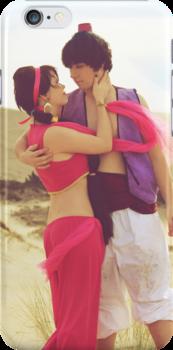 Jasmine & Aladdin by Sarah Miller