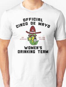 "Cinco de Mayo ""Women's Drinking Team"" T-Shirt"