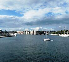 Strömkajen, Stockholm by Trish Meyer