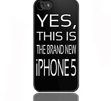 The brand new iPhone5 by Nicklas81