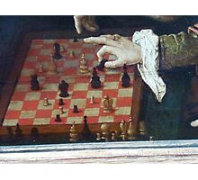 The Chess party Photographic Print