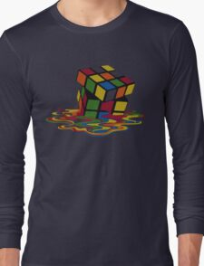 Rubix Cube - Melting Long Sleeve T-Shirt