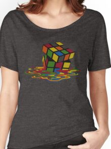 Rubix Cube - Melting Women's Relaxed Fit T-Shirt