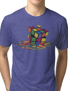 Rubix Cube - Melting Tri-blend T-Shirt