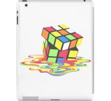 Rubix Cube - Melting iPad Case/Skin