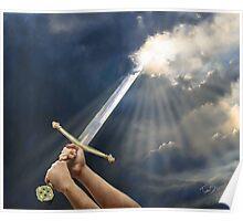 Sword of the Spirit by Tamer ElSharouni Poster
