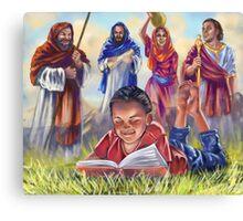 Living Bible Canvas Print