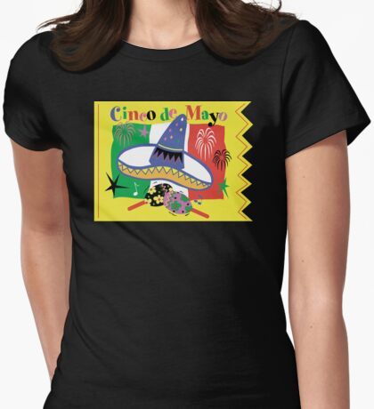 Cinco de Mayo Womens Fitted T-Shirt
