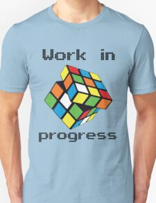 Rubix Cube - Work in progress T-Shirt