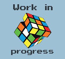 Rubix Cube - Work in progress Unisex T-Shirt