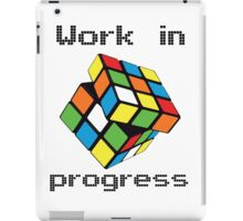 Rubix Cube - Work in progress iPad Case/Skin