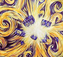 Time exploding by Yuliya Pustovarova