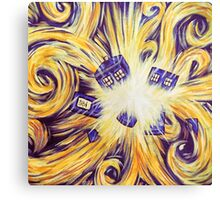 Time exploding Canvas Print