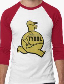 Vintage Tydol Motor Oil Man T-shirt Men's Baseball ¾ T-Shirt