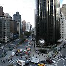 Columbus Circle, Central Park West, Broadway, New York City by lenspiro