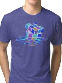 Rubix Cube - Melting. Tri-blend T-Shirt