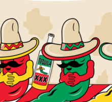 Official Cinco de Mayo Hangover T-Shirt Sticker