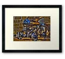 And I thought my Canon was heavy! Framed Print