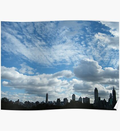 Central Park View, New York City Poster