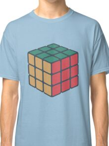 Rubix Cube - Plain Classic T-Shirt