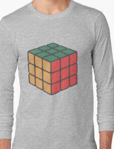Rubix Cube - Plain Long Sleeve T-Shirt