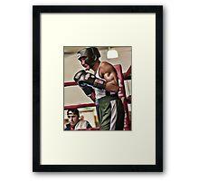 The Master Boxer Framed Print