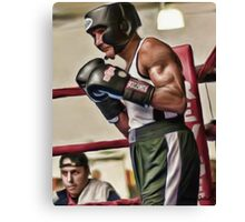The Master Boxer Canvas Print
