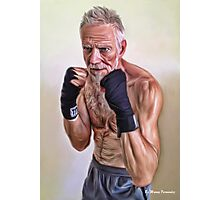 Master Boxer 2 Photographic Print
