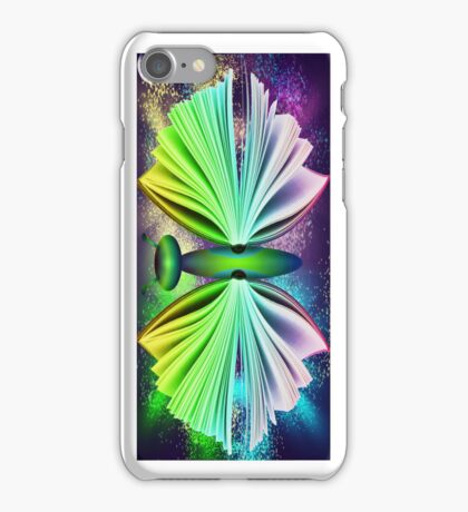 butterfly book iphone iPhone Case/Skin