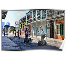 Cruisin' the French Quarter Poster