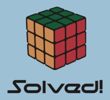 Rubix Cube - Solved by brzt
