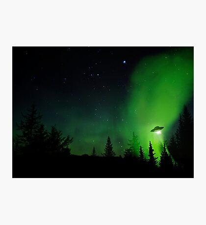 Alaskan UFO Photographic Print