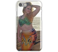 Mermaid on the Sand iPhone Case/Skin