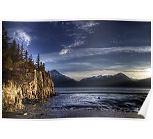 Low Tide on the Turnagain Arm Poster