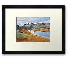 The Dam at Rawnsley Park!, Flinders Ranges. South Australia. Framed Print