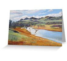 The Dam at Rawnsley Park!, Flinders Ranges. South Australia. Greeting Card