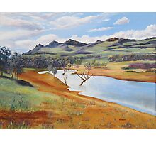 The Dam at Rawnsley Park!, Flinders Ranges. South Australia. Photographic Print