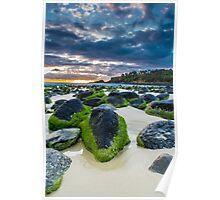 fingal rocks Poster