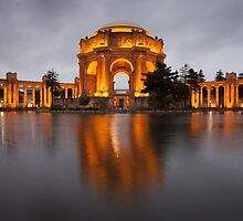 Palace of Fine Arts at Night by Nickolay Stanev