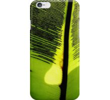 Leaf Veins iPhone Case/Skin