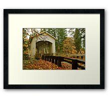Bridge Over Linn County Framed Print
