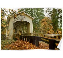 Bridge Over Linn County Poster