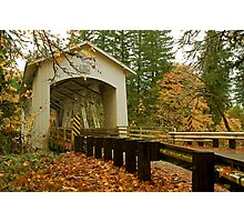 Bridge Over Linn County Photographic Print