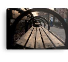 Park Bench Metal Print