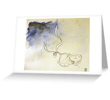 Hope and the Night Sky Greeting Card