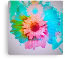 Pop Goes The Flower Canvas Print