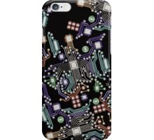 circuit board iPhone Case/Skin