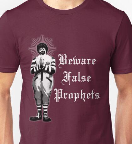 Beware False Prophets (Dark Colors) Unisex T-Shirt